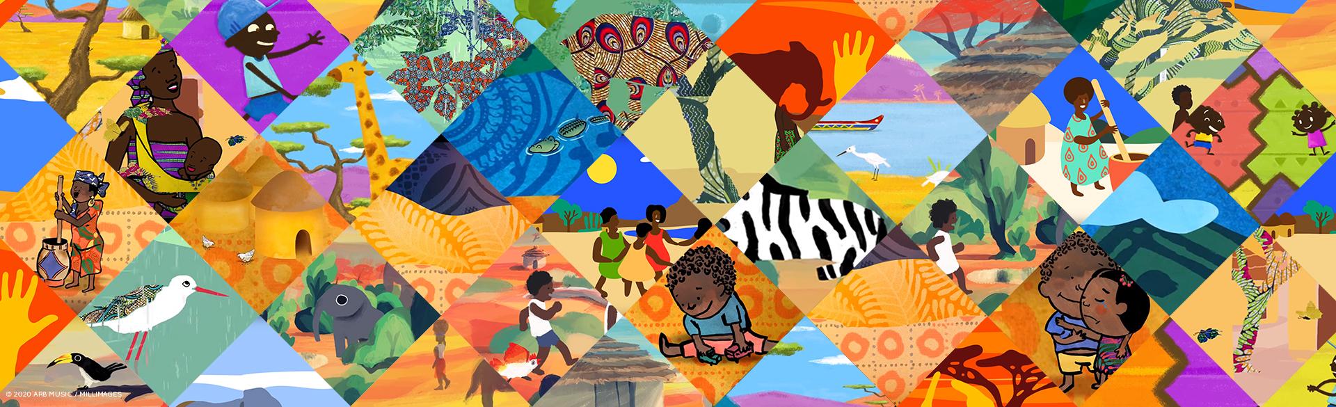 AFRICAN & WEST INDIAN NURSERY RHYMES