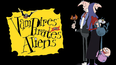 VAMPIRES, PIRATES, ALIENS